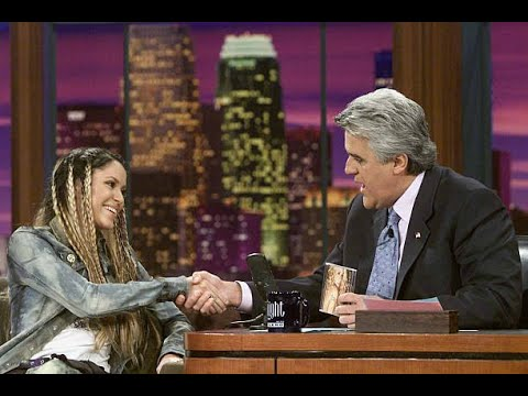 Shakira Underneath Your Clothes Live The Tonight Show with Jay Leno 2002