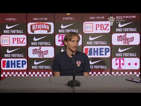 Luka Modrić uoči Švedske