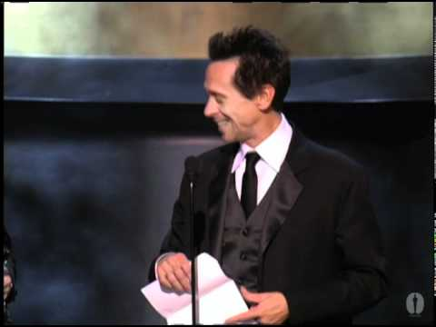 brian grazer - Tom Hanks presenting producers Brian Grazer and Ron Howard with the Oscar® for Best Picture for