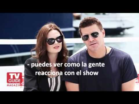 Emily Deschanel & David Boreanaz en Comic Con