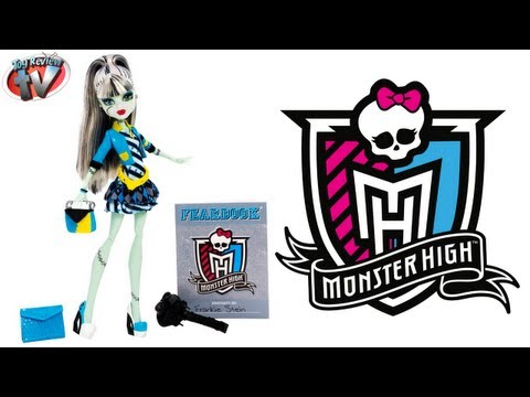 Monster High Picture Day Frankie Stein Doll Toy Review, Mattel