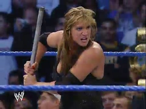 2016 Brock Lesnar KISS Stephanie McMahon See Whats happen after This FullHD BLOODIES REAL MATCH