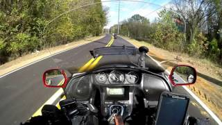 9. Goldwing Riding with the Victory Cross Country pt 1.