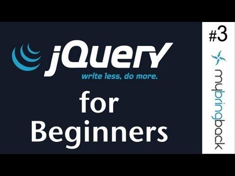 Understanding jQuery Functionality