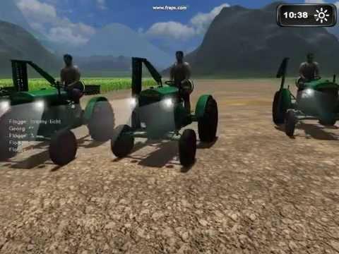 Landwirtschafts Simulator 2011 Tracktor Racing