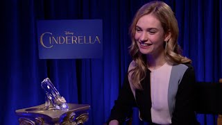 Lily James, Princess Cinderella 2015 : Everything Is About The Dress&the Shoes