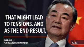Chinese Foreign Minister Wang Yi is pushing for joint development in the disputed West Philippine Sea. FULL STORY: http://s.rplr.co/sETQkUX