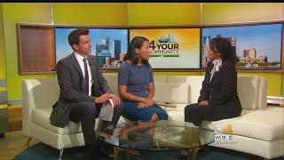 Elisabeth Jackson of Bridge Over Trouble Waters talks to WBZ-TV's Nick Giovanni and Anaridis Rodriguez.