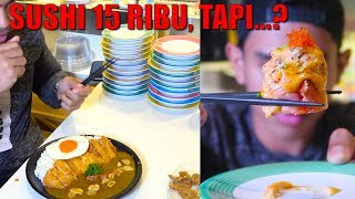 Video BANGKRUT | AKHIR BULAN MUKBANG SUSHI 😭 MP3, 3GP, MP4, WEBM, AVI, FLV Desember 2018
