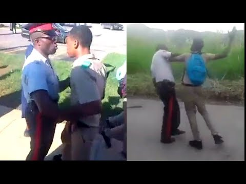 School Boys Diss Police officers, Who was wrong and Why ?