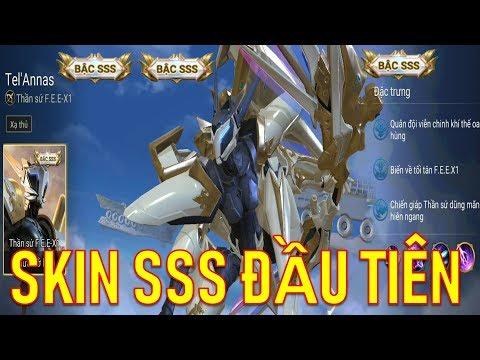 Liên quân Việt Nam xuất hiện Skin Bậc SSS đầu tiên : Thần sứ F.E.E-X1 Tel'Annas - Thời lượng: 13 phút.