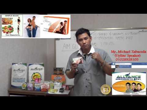 AIM GLOBAL QATAR  Product Presentation  SLIM AND TRIM with Rolly Sanoy +97477847138