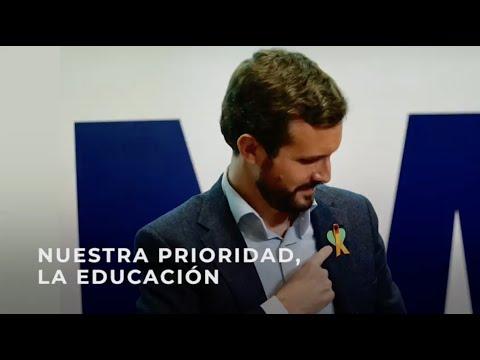Nuestra prioridad, la educación