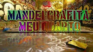 Mandei grafitar meu quarto pelos 500 inscritos FT Jailson ✅ Se você quiser também grafite fale com o Jailson desenhista⤵...