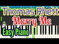Marry Me - Thomas Rhett - Piano Cover | Beat