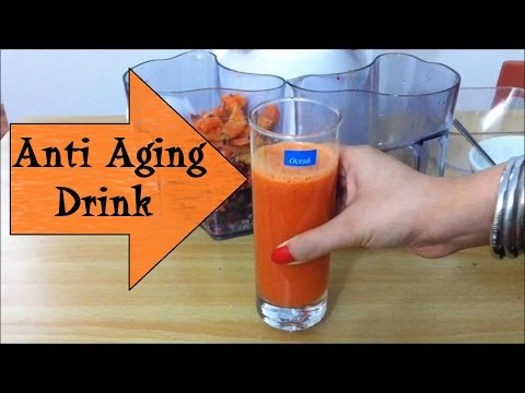 DIY Anti Ageing Drink  Anti Aging Remedy homemade Natural Weight loss Flat belly diet drink