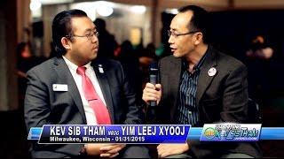 Suab Hmong TalkShow:  YeeLeng Xiong, School Board DC Everest