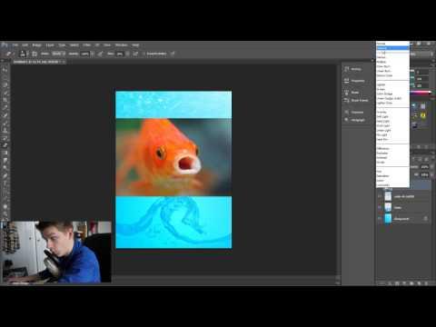 Poster achtergrond maken (overlay) in Photoshop