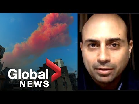 """Beirut explosion: Lebanese journalist says city feeling """"great fear"""" after deadly blast"""
