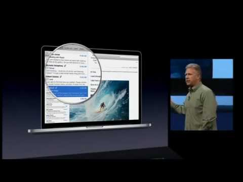 WWDC 2012 keynote - Apple introduces all new MacBook Pro with Retina Display at WWDC 2012 Part 1/2.