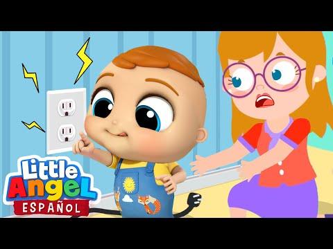 ¡Bebé Juan debes tener cuidado! | Canciones Infantiles | Little Angel en Español