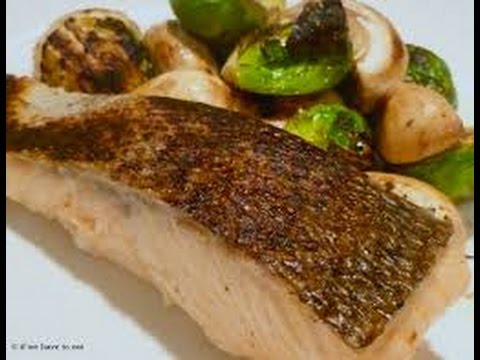 Steam Fish With Brussels Sprouts - Cooking Academy
