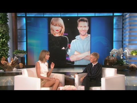 taylor - He may seem immune to all mortal flaws, but Adam Levine has one weakness, and Taylor Swift knows what it is.