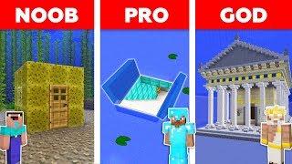 Video Minecraft NOOB vs PRO vs GOD: UNDERWATER BASE BUILD CHALLENGE in Minecraft / Animation MP3, 3GP, MP4, WEBM, AVI, FLV September 2019