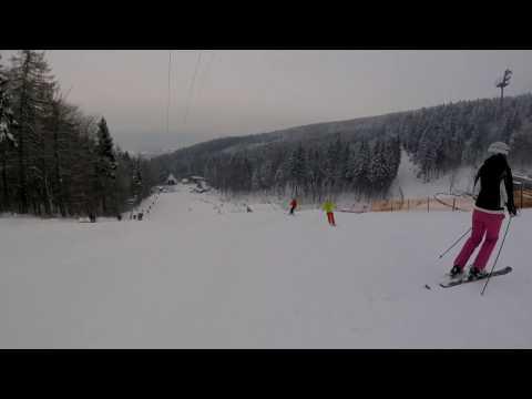 Ski Ještěd červená 2