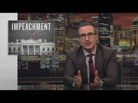 John Oliver on Impeachment