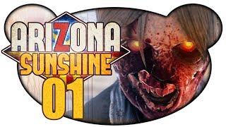 ARIZONA SUNSHINE #01 - Zombies und VR (Let's Play VR Gameplay Deutsch)