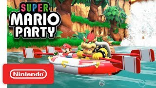 Super Mario Party - River Survival Mode - Nintendo Switch