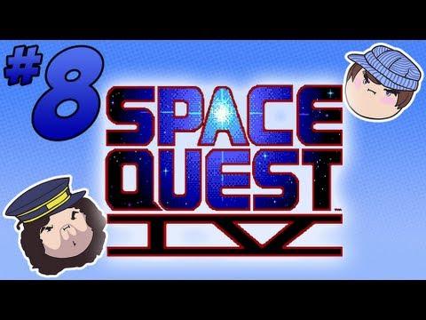 Space Quest IV: The Distant Sputure - PART 8 - Steam Train
