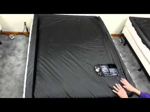 40% csillapítású vízágy matrac