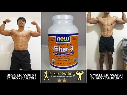 Now Foods Organic Fiber 3 Powder