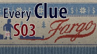 There have been a lot of theories on clues in Fargo this season. In response I have compiled all the clues from episodes 1 - 7 in this video.PJG Productions produces Short Films, Film Analysis, Poetry Readings, Skits, and Serials.  We love film and like to explore it's formats.http://www.youtube.com/channel/UCzEUUJP-1bMZE1V0s085Snwhttp://www.facebook.com/pjgproductionshttp://twitter.com/alignyourworldshttp://www.patreon.com/pjgproductions