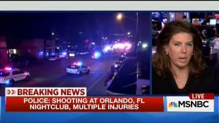 This is the very first indication of the shooting in Orlando at the pulse nightclub on MSNBC. This aired from 4:30am ET - 4:36am ET. This ended up being the ...