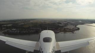 GOPRO HERO HD WIDE LENS on SR-20 Landing