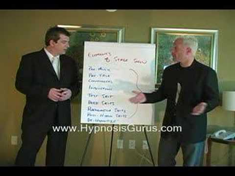 Stage Hypnosis Exposed:  Michael Johns & Richard Nongard