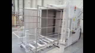 Polytetrafluoroethylene (PTFE) curing oven 450 Celsius degree.