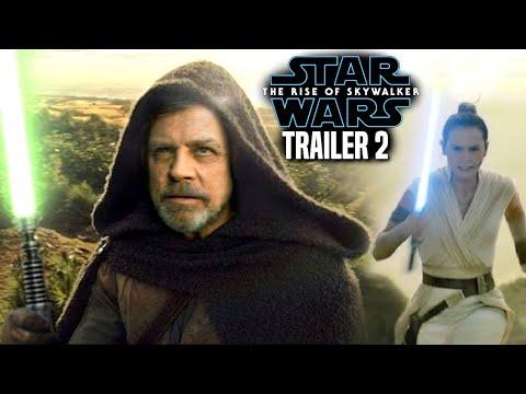 The Rise Of Skywalker Trailer 2 Leaked Details Revealed! Star Wars Episode 9 Trailer
