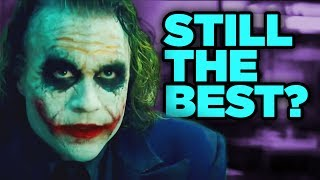 "The Dark Knight - reasons it is the superhero movie that films like Logan and Wonder Woman are compared to. Why is Christopher Nolan's The Dark Knight, starring Heath Ledger as the Joker, considered the ""gold standard"" of superhero movies? Erik Voss explains why The Dark Knight still holds up as the movie that others in the superhero genre struggle to top. Is Logan better than The Dark Knight? What about Wonder Woman? Are any Marvel movies better than The Dark Knight? What specific differences make Nolan's film stand out from the others?CONNECT WITH US!Facebook: http://facebook.com/newmediarockstarsTwitter: http://twitter.com/newrockstarsCONNECT WITH ERIK:http://www.twitter.com/eavossSPECIAL THANKS TO OUR PATREON SUPPORTERS (http://www.patreon.com/newrockstars), including these beautiful people:Kelly HopperKenny SmithMatthew SalvasPony StarkJ. Drew KimBM HavocRise BellandiEric OliverLucious BarnesChris ColeExecutive Creative Director: Filup Molina http://www.twitter.com/fimoExecutive Producer: Jeben BergPost Production Supervisor: Ericson Just http://www.twitter.com/justericson"