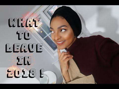 GET READY WITH ME : WHAT TO LEAVE IN 2018 ! - HALI BERRY