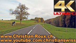 Murten Switzerland  city photos : UHD - Switzerland 294 (Camera on board): Fribourg-Murten/Morat en automne (Hero3)