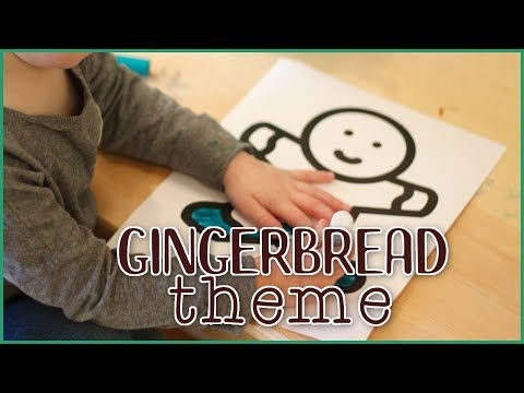 Setting Up the Toddler And Preschool Classroom - Gingerbread Theme