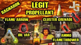 "In this video I'll show you how to obtain propellant legit on the Ragnarok map, without going into the forbidden desert.. If you want to go to the desert anyway, I made a video about it:https://youtu.be/0wafDnG7gg0Propellant is need for making Flaming Arrow, Cluster Grenade, Oil Jar, Flamethrower Ammo. There is one requirement tho. You need a Industrial Grinder!Wiki Propellant:http://ark.gamepedia.com/Propellant_(Scorched_Earth)MUSIC:None.. Did you like this or should I play music in the background??Make a comment so I'll know your opinion :-)SUBSCRIBE to learn more about ARK!http://www.youtube.com/subscription_center?add_user=jonesy-gamingPATREON: Let's support each other!https://www.patreon.com/JonesyGamingHOST your own ARK server?https://hosthavoc.com/billing/aff.php?aff=589MUSIC:TheFatRat - The Calling (feat. Laura Brehm)TheFatRat - Monody (feat. Laura Brehm)-- My WISHLIST for my new HIGH END GAMING computer --▪ Monitor ▪ Asus 27"" LED G-Sync Rog Swift PG279Qhttp://amzn.to/2oDRZ4v▪ GPU ▪ Asus GeForce GTX 1080 Ti Founders Ed.http://amzn.to/2nQr6gv▪ CPU ▪ Intel Core i7-7700K Kaby Lake Processorhttp://amzn.to/2nkMQgx▪ RAM ▪ 2x Corsair Vengeance LPX DDR4 3200MHz 16GBhttp://amzn.to/2oE8Unv▪ MB ▪ ASUS Strix Z270F Gaming, Socket-1151http://amzn.to/2nkNCtZ ▪ SSD ▪ Samsung 850 EVO 500GB M.2 SSDhttp://amzn.to/2nkzWPM▪ Cooler ▪ Noctua NH-U14S CPU Coolerhttp://amzn.to/2nkEBkI▪ PSU ▪ EVGA Power Supply 650W GOLDhttp://amzn.to/2oDZOao▪ CASE ▪ Fractal Design - Define C Blackhttp://amzn.to/2nkDpOj"