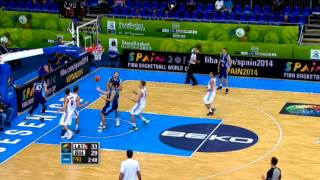Highlights Latvia-Bosnia Herzeg. EuroBasket 2013