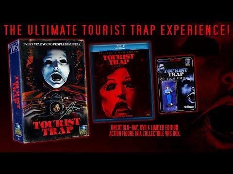 """UNCUT Tourist Trap """"Vintage VHS"""" Blu-ray Box Set"""