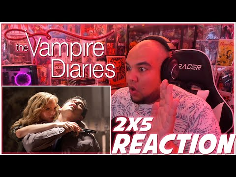 JUST LET IT GO! | The Vampire Diaries 2x5 REACTION | Season 2 Episode 5