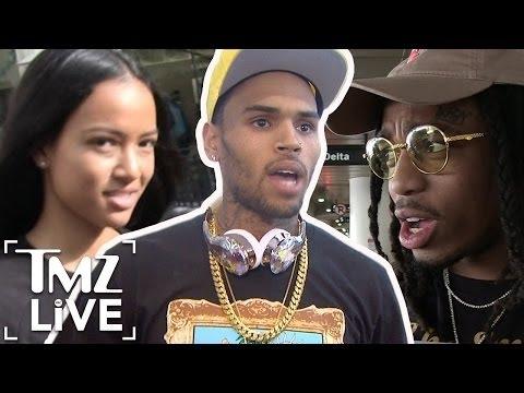 Chris Brown Feels Betrayed By Quavo | TMZ Live